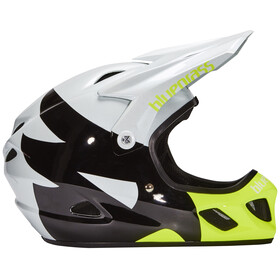 bluegrass Explicit Fullface-Helmet white/black/yellow